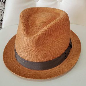 NWT Bailey of Hollywood Cuban Panama Straw Hat